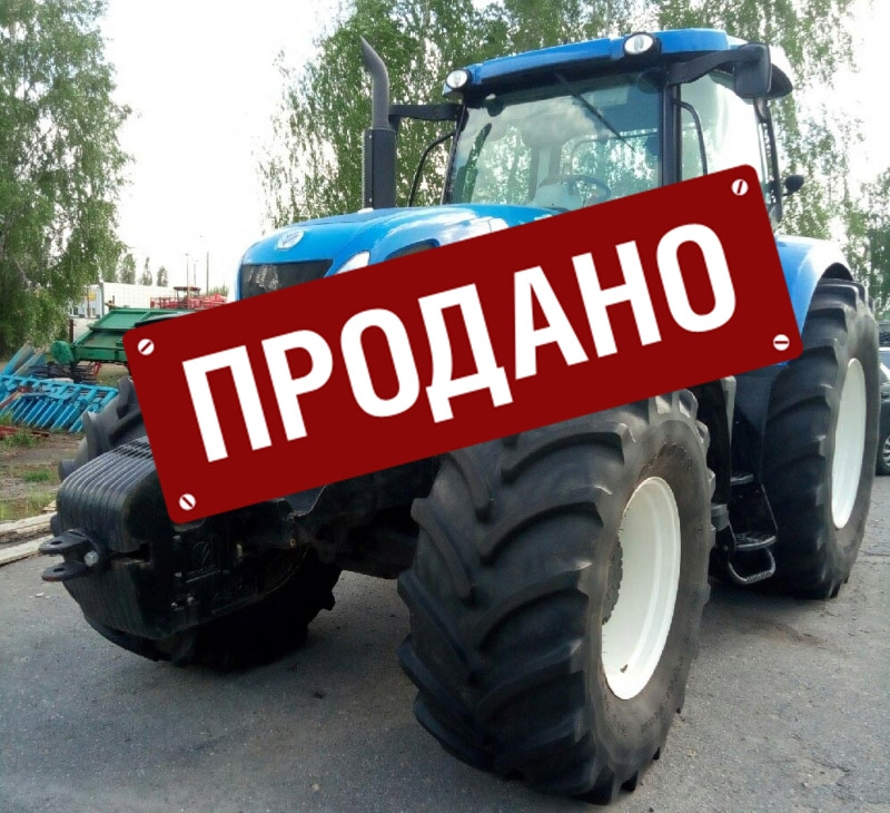 Трактор New Holland Т7060 б/у 2016 года