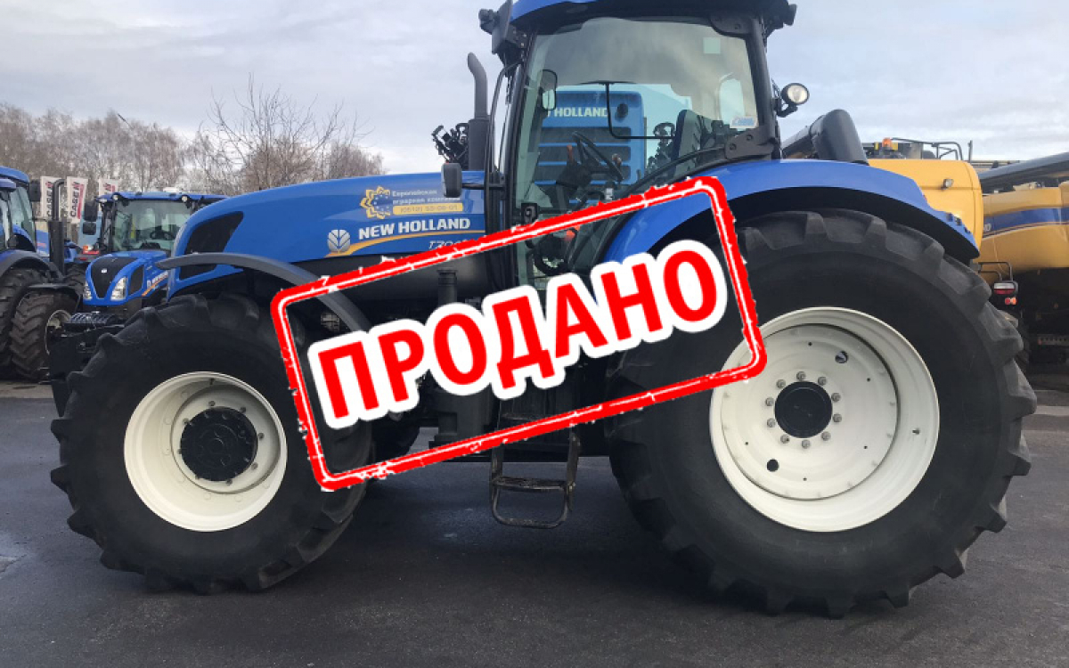 Трактор New Holland Т7040 2016 года выпуска