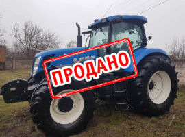 Трактор New Holland T7060 2014 года выпуска
